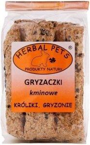 Herbal Pets 4807 Gryzaczki kminowe - gryzonie 160g