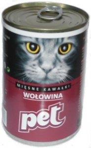 Pet Cat 810g Wołowina
