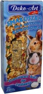 Dako-Art 347 Smakoszka kokosowa 2szt kolby gryzoń