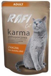 Rafi 2346 saszetka z kaczką 100g dla kota