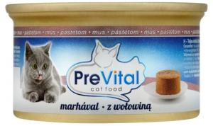 PreVital 0603 MUS dla kota 85g Wołowina