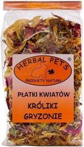 Herbal Pets 4166 Płatki kwiatów króliki gryzon 30g