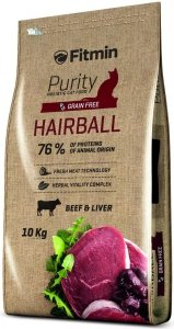 Fitmin Cat 10kg Purity Hairball