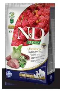 ND Dog NG 5639 Adult Quinoa 7kg Digestion Lamb