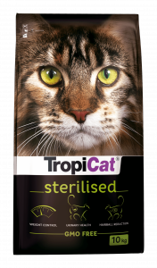 TropiCat 55127 Premium Sterilised 10kg