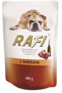 Rafi 1158 saszetka z indykiem 300g dla psa