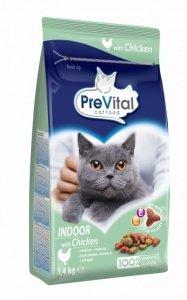 PreVital 1181 sucha dla kota 1,4kg Indoor Kurczak