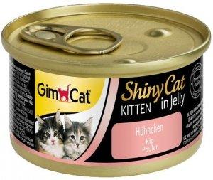 Gimcat 413143 Shiny Cat Kitten Kurczak 70gr
