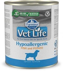 Vet Life Dog 2819 Natural Diet 300g Hypoaler Fish