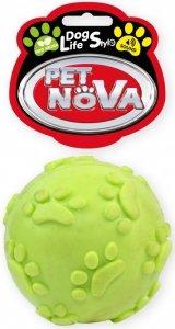 Pet Nova 2110 Piłka 6cm z dzwiękiem, żółta