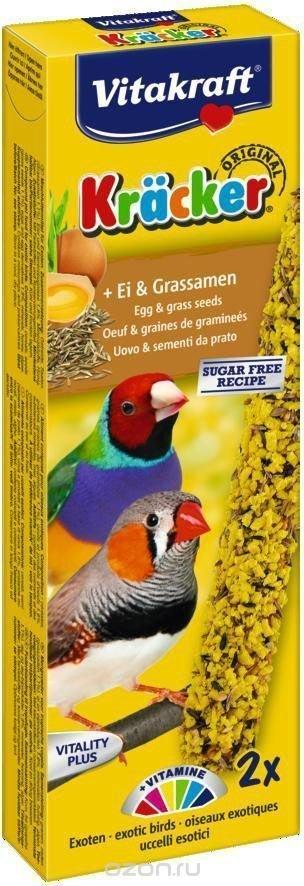 Vitakraft 2580 Kracker 2szt ptak egzot. jajeczna