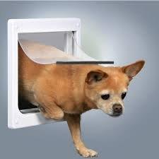 Trixie 3877 Drzwi dla psa XS-S 20x21cm białe