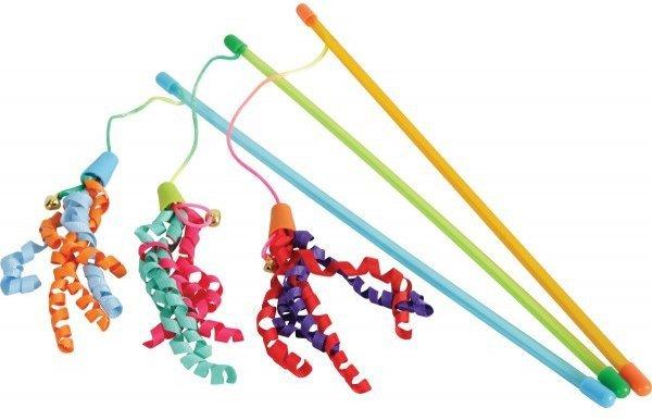 ZOLUX 580710 Zabawka wędka dla kota z taśma