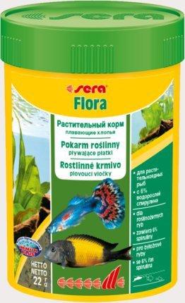 Sera 45301 Flora Nature 100ml płatki roślinne