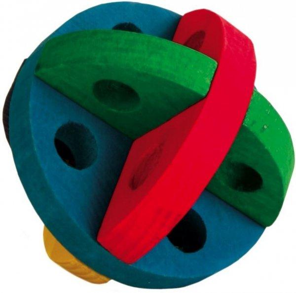 Trixie 6185 Piłka Drewniana dla gryzoni