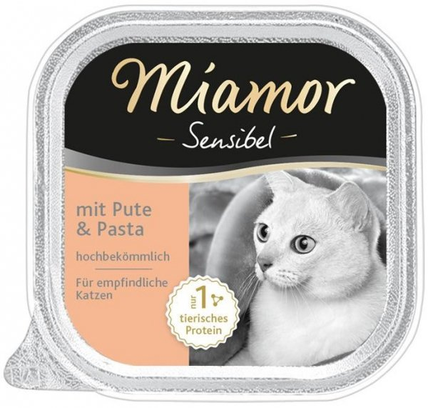 Miamor 75052 Sensibel indyk makaron 100g szalka