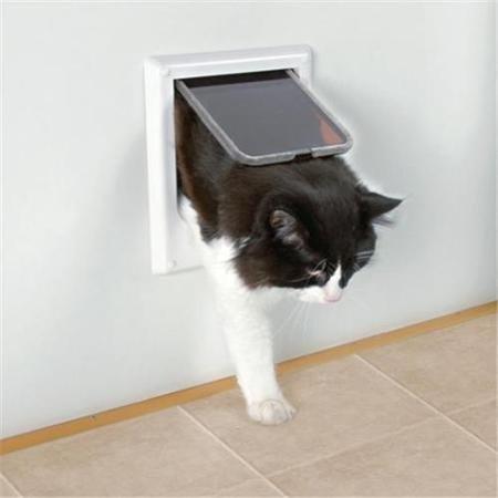 Trixie 3869 Drzwi wahadłowe dla kota elektromagne