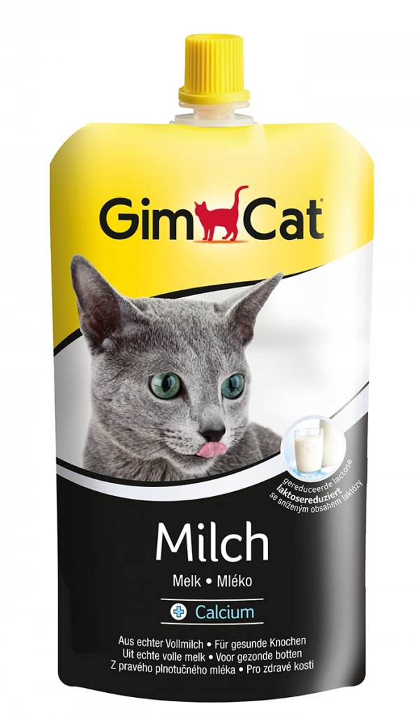 Gimcat 406268 Mleko w saszetce 200ml dla kota