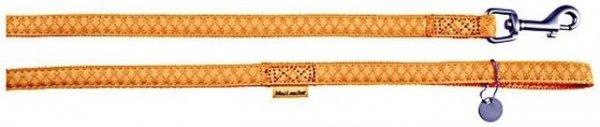 Zolux 522010JA Smycz Mac Leather 10mm/1,2m żólty