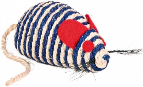 Trixie 4074 Mysz z sizalu 10cm