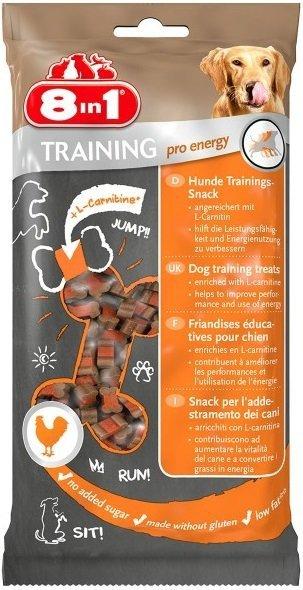 8in1 126591 Przysmak Training Treats Energy 100g