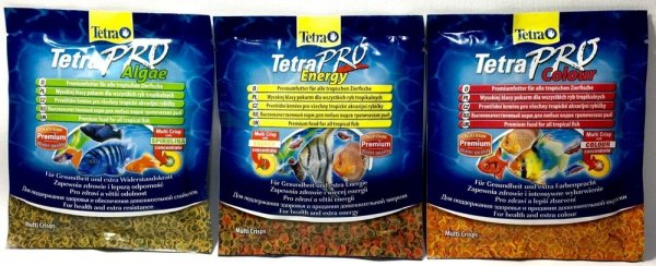 Tetra 348015 Zestaw PRO 2+1 Algae+Energy+Color 12*