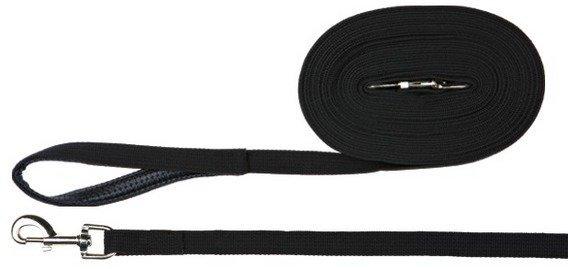 Trixie 19901 Smycz 5m/20mm czarna