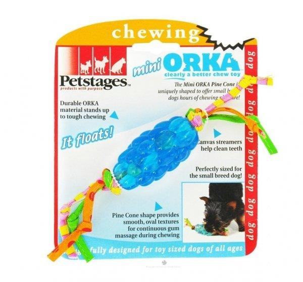 Petstages PS224 Orka Szyszka sosnowa, mini