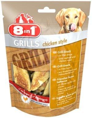 8in1 111788 Przysmak Grills Chicken Style 80g*