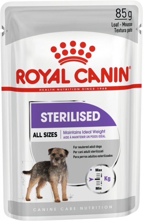 Royal 270320 CCN Dog Sterilised pasztet sasze 85g