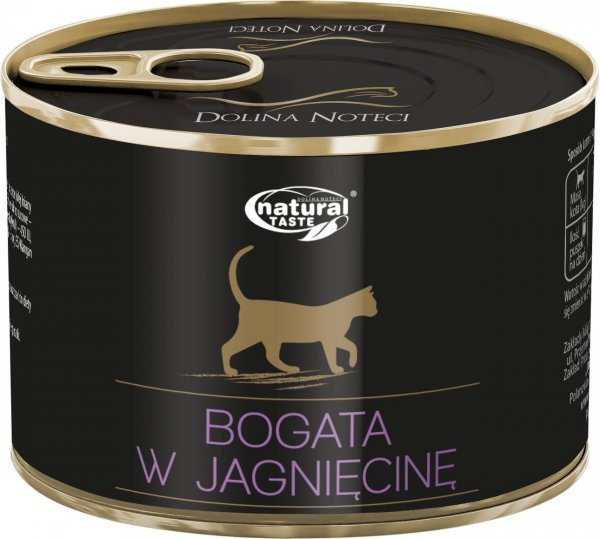 Natural Taste Cat 9824 Jagnięcina 185g