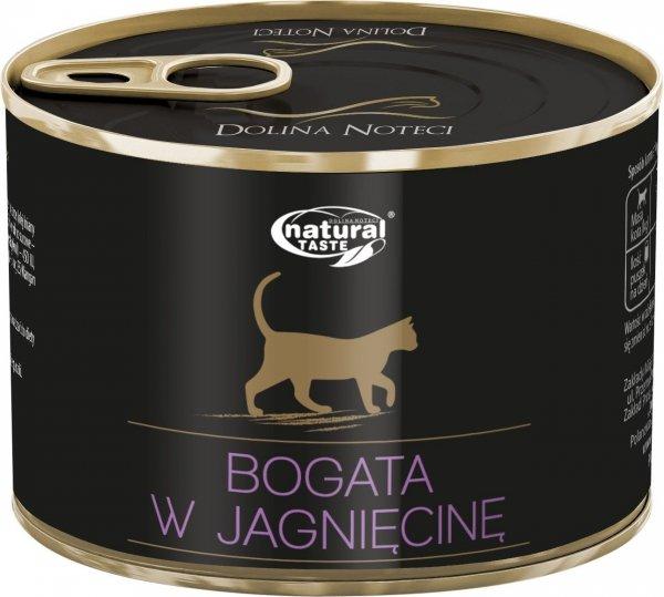 Natural Taste Cat 9824 Jagnięcina 185g