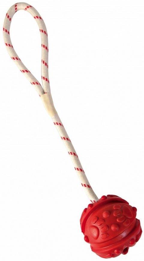 Trixie 33482 Piłka ze sznurkiem 7x35cm