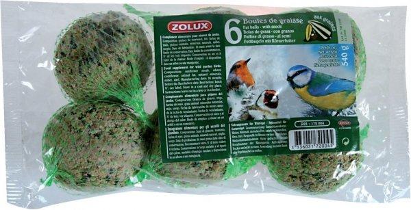 Zolux 172004 Kule tłuszczowe 6szt 540g