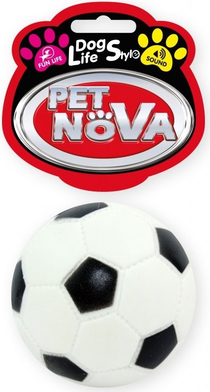Pet Nova 1380 Piłka futbolowa 7cm