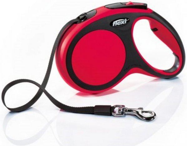 Flexi 2834 Comfort L Tape 5m 60kg czerwona*