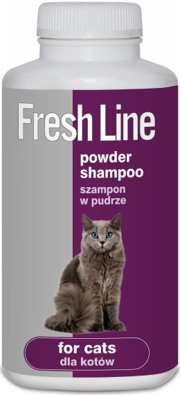 Fresh Line 0081 Szampon w pudrze dla kotów 250ml