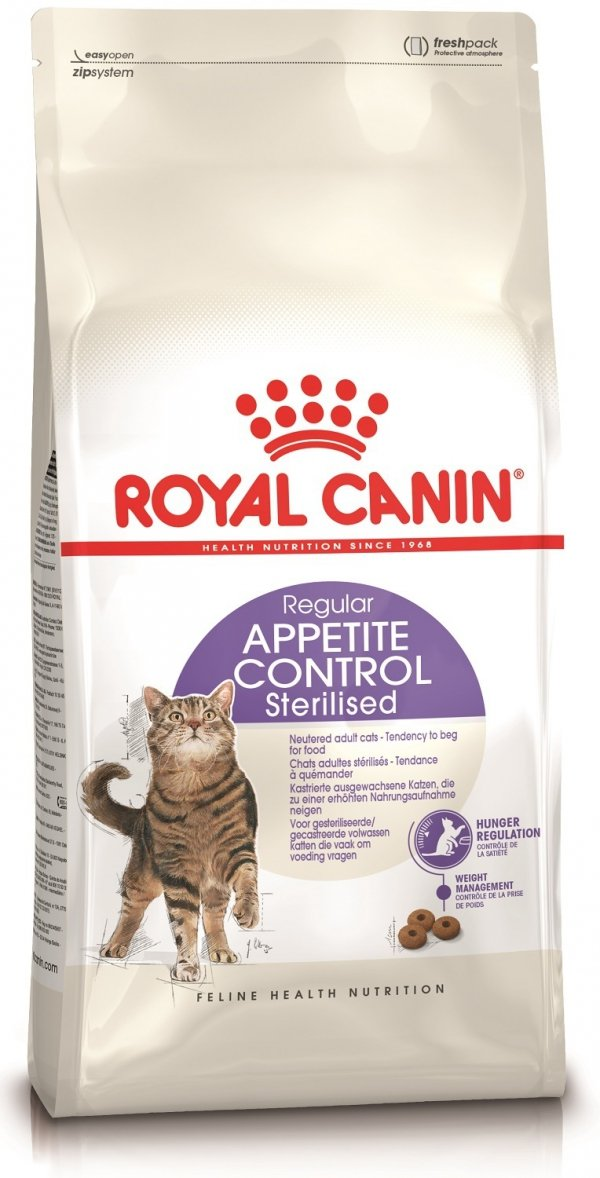 Royal 228020 Sterilised Appetite Control 2kg**