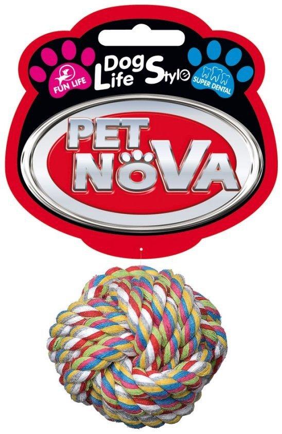 Pet Nova 2885 Zabawka BALL Piłka sznur 6cm