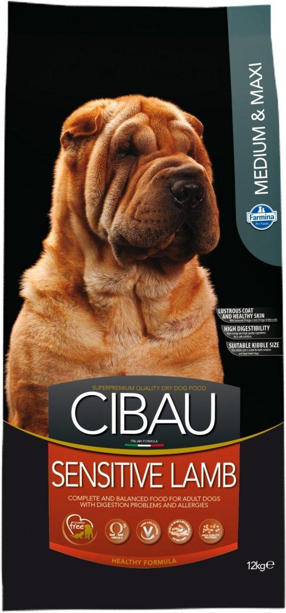 Cibau Dog 1044 Sensitive Lamb Medium / Maxi 12kg