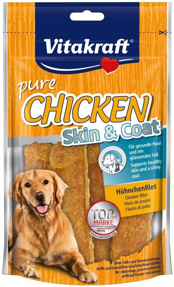 Vitakraft 3607 Chicken Skin&Coat przysmak 70g