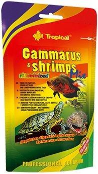 Trop. 10314 Gammarus & shrimps mix 130G