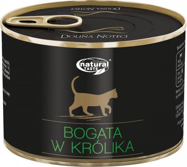 Natural Taste Cat 9817 Bogate w królika 185g
