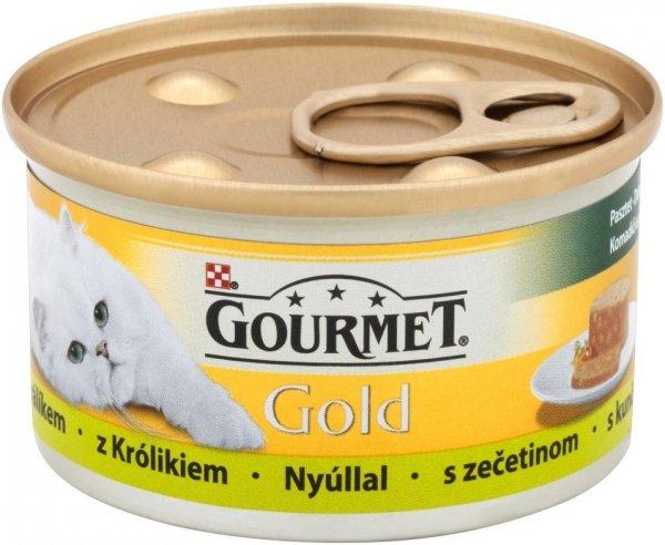 Gourmet Gold 85gr Kawałki królika w pasztecie