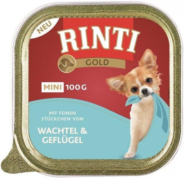 Rinti 92025 Mini Gold 100g Przepiórka Drób