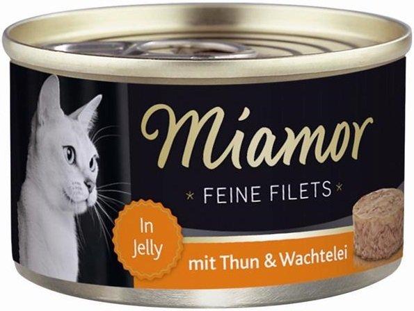 Miamor 74042 Feline Filets Tuńczyk + Jajko 100gr