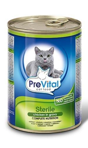 PreVital 0016 Puszka dla kota 415g Sterile sos