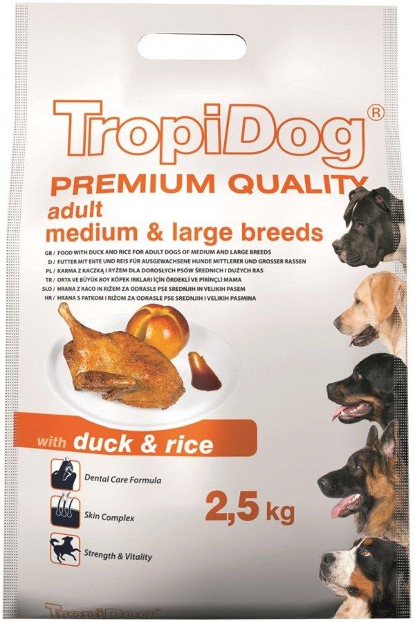 Tropidog 57015 Premium Adult M&L Duck&Rice 2,5kg