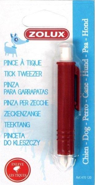Zolux 470120 Pęseta plastikowa do usu.kleszczy9,5*