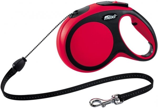 Flexi 2914 Comfort M Cord 8m 20kg czerwona*